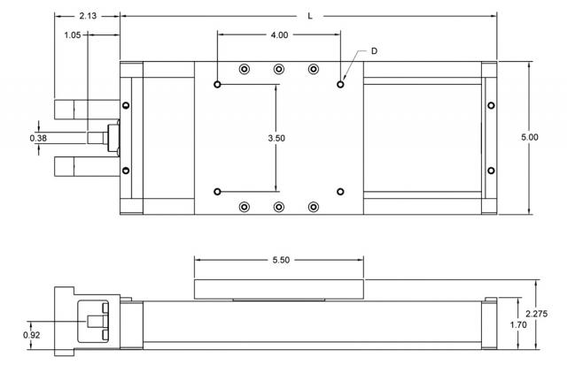 XT5 Linear Slide System DWG